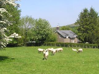 Farm cottage sea mountains Snowdonia Gwynedd