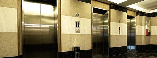 3 High Speed Elevators & Strict Security