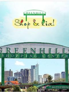 Greenhills Shopping Center - few minutes away bargains in real pearl jewelry, clothes and more