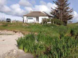 Cottage from beach