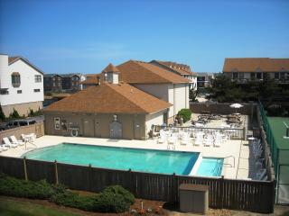 A view of the Pool from our Deck. 2012