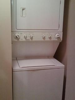 Private Washer/Dryer conveniently located inside the apartment