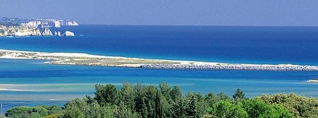 Meia Praia beach and lagoon