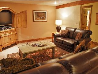 Leather Couch & Loveseat, HDTV, DVD & Stereo.