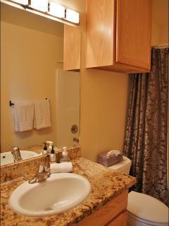 Bathroom is Remodeled too