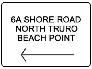 Left turn onto 6A and proceed 2.1 miles down road. Harbor View sign will be on your left hand side.
