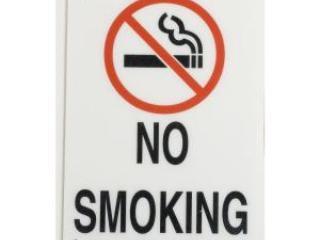 No Smoking in or around the building. Smoking in parking lot or beach okay.