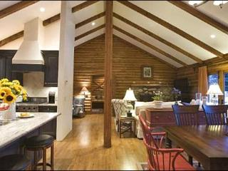 Lovely Ketchum Log Home - Grandly Appointed Lodging (1082)