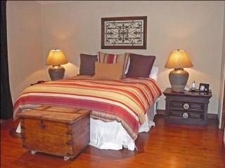 Master Bedroom with Beautiful Hardwood Flooring