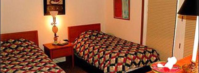 Twin Beds in the Third Bedroom