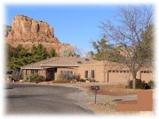 Gunsight Rock and House