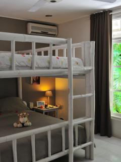 Lilou's bedroom with bunk bed ( 2 beds in 140x200)