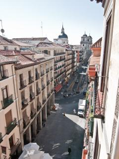 right view from balcony: San Isidro