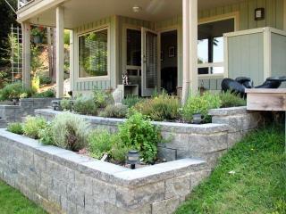 Suite Exterior with Herb Garden