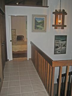 Hallway to Guest Bedroom & Rear Lanai