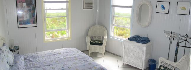 Typical Bedroom w/Queen Bed, shelves, dresser and Hangars