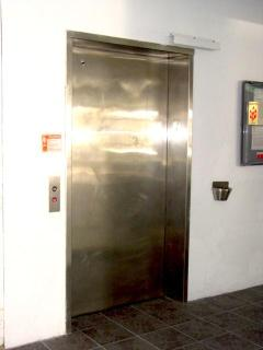 boring... The Elevator.  But we are only one floor up so you may not need to use this.