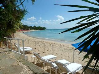 Landmark House & Cottage at Sandy Lane Beach, Barbados - Beachfront, Gated, Holetown