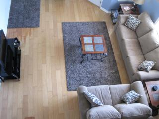 Looking Down on Living Area