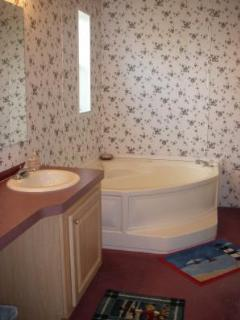 Jacuzzi tub for Queen Master Bedroom