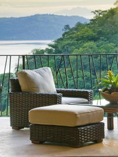 Great Room Terrace- Ocean, Jungle, Golf Views