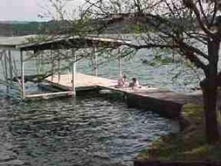our boat/swimming dock