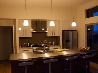 Stylish, modern kitchen, island beach accommodation, kangaroo island
