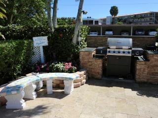 We have a barbeque area for our guests' grilling pleasure