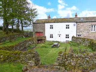LEONARD'S CRAGG, stone built, semi-detached farmhouse, with double bedroom and l
