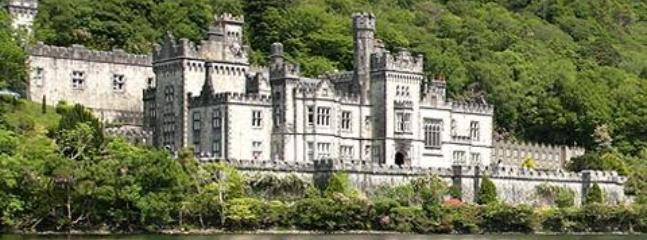 Kylemore Abbey - 5 minutes away