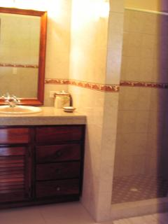 Bathroom with cold and hot water