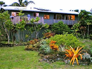 Home and Tropical Garden from Oceanside