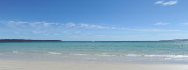 Pristine beach at your doorstep