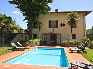 Villa il Castellaccio farmhouse chianti with pool