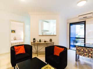 Modern 1 Bedroom Apartment in Vila Olimpia, Sao Paulo