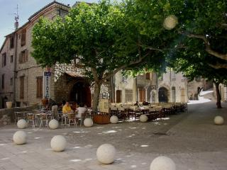 Cafe on the village square