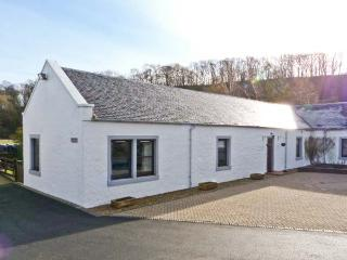 THE BARN AT DALDORCH, pet friendly, country holiday cottage, with a garden in Mauchline, Ref 13688