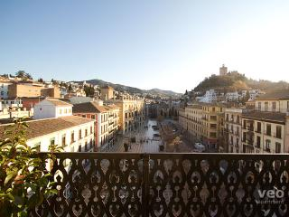 Plaza Nueva Terrace | Studio with terrace & views, Granada
