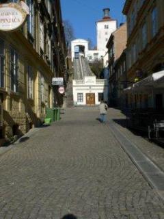 Street Tomiceva Centar near Ilica shopping street
