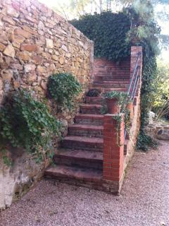 Stairs Leading to Guest House
