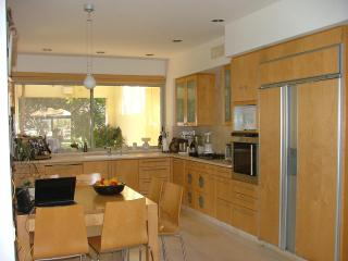 Spacious fully equipped main kitchen in the first floor