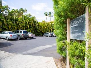 Parking Entrance - this unit has 1 reserve parking