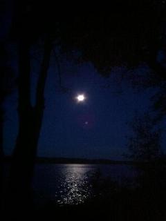 Super Moon over Lake Pokegama
