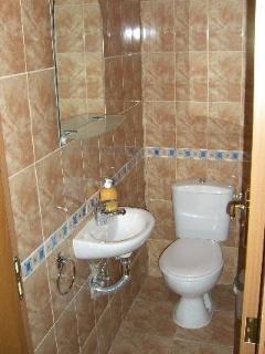 second bathroom by front door