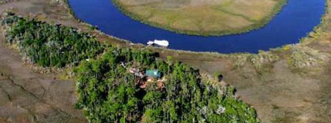 Aerial view of Eagle Island and surrounding marsh - Eagle Island, Georgia House