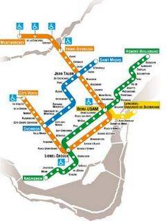 Berri-UQAM, located one bloc away from the apartment is the city's most important metro station.