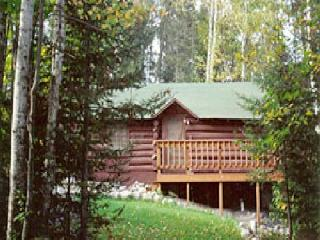 "Ranger Log Cabin  ""The Honeymoon Cabin"", Ely"