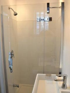 New and modern shower