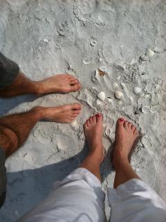 Beautiful sands of Sanibel