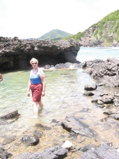 Take a hike to the tidal pools from Carambola.